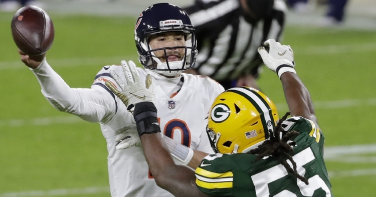 Trubisky needs a big game against the Packers (William Glasheen - USAT)