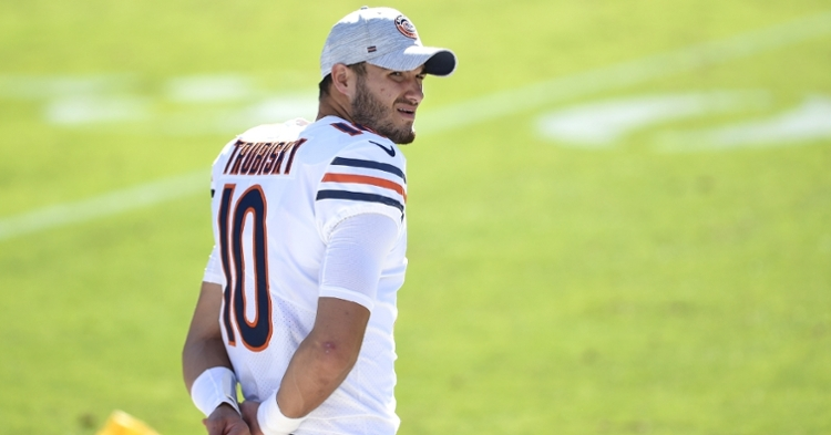 Trubisky has been a backup for most of the season (Bob Donnan - USA Today Sports)