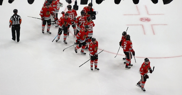 Blackhawks-Oilers series tied at 1-1 (Handout Photo - USA Today Sports)
