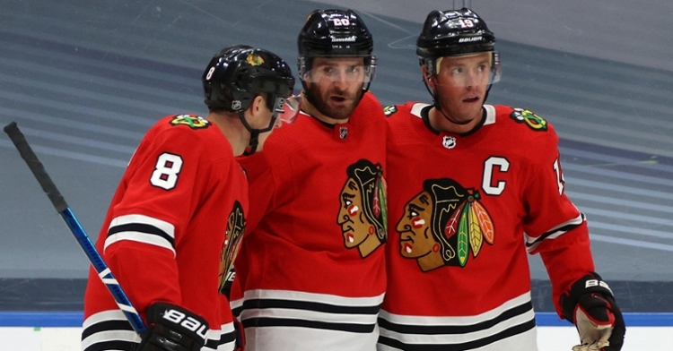 Blackhawks shock Oilers with Game 3 win