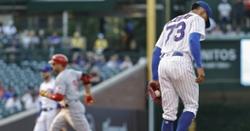 Cubs slug three home runs but lose to Reds