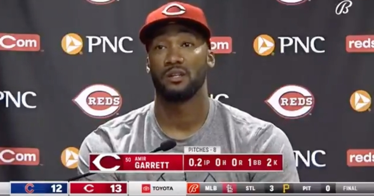 Regardless of his reasoning for yelling at Anthony Rizzo, Amir Garrett added fuel to the fire that is his rivalry with the Cubs.