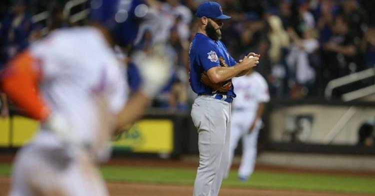 Cubs collect just three hits, lose series opener versus Mets