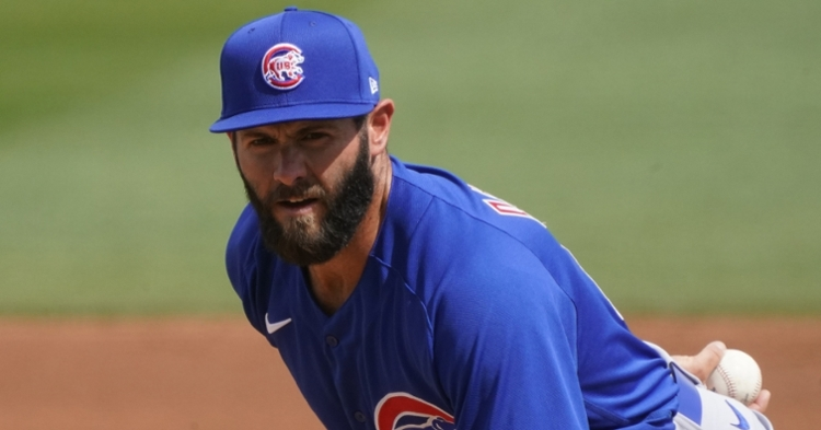 Arrieta pitched two scoreless innings in his spring debut (Rick Scuteri - USA Today Sports)