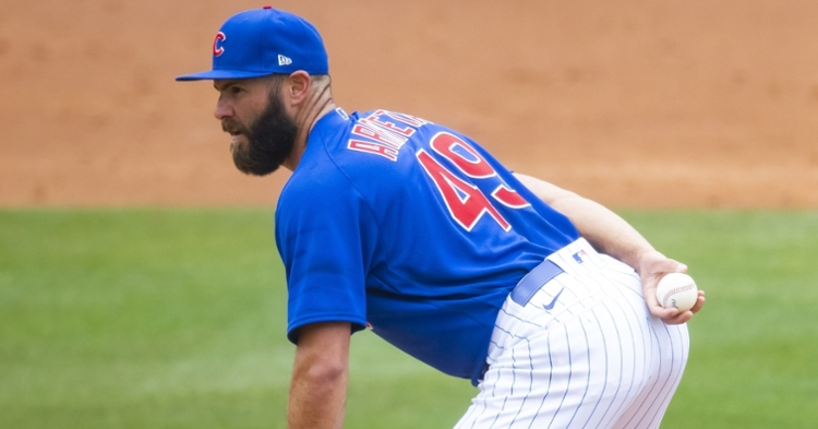 Arrieta will get the start on Tuesday against the Bucs (Mark Rebilas - USA Today Sports)