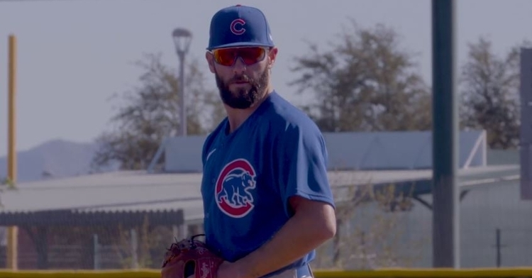 Jake Arrieta is back with the Cubs (Photo: Cubs)