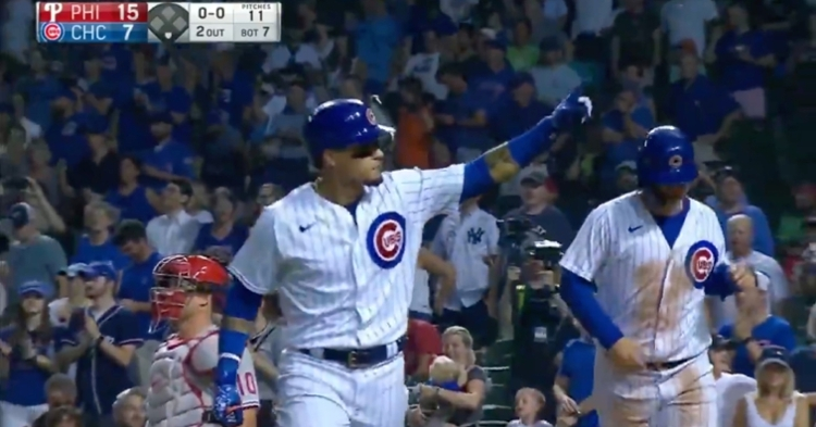 WATCH: Javier Baez hammers 408-foot two-run jack, his second dinger of game
