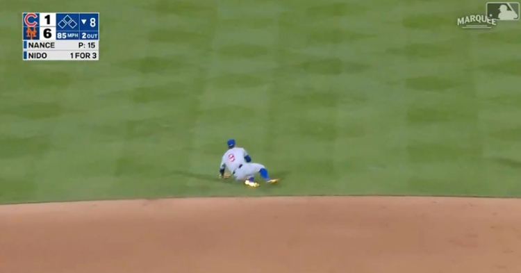 Javier Baez pulled off an incredible defensive play that was much more difficult than he made it look.