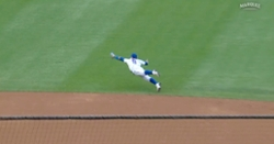 WATCH: Javier Baez goes airborne on diving stop, pulls off spectacular defensive play