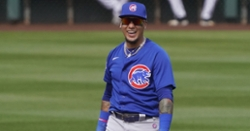 WATCH: Javy rips three-run homer vs. Rangers