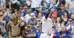 Cubs homer five times in series-opening win over Padres