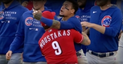 MLB punishes Javy Baez for role in Cubs-Reds bench-clearing