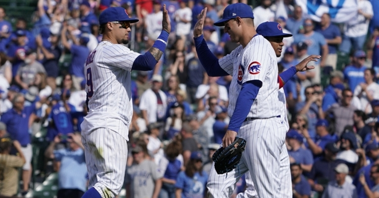 Reportedly, the Cubs have not received very many trade inquiries concerning Javier Baez or Anthony Rizzo. (Credit: David Banks-USA TODAY Sports)