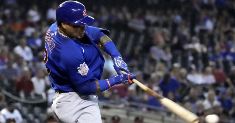 El Mago has an eight-game hitting streak (Rick Scuteri - USA Today Sports)