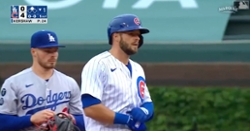 WATCH: David Bote hits bases-clearing double off Clayton Kershaw