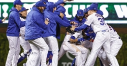 Javier Baez, David Bote come up clutch in Cubs' walkoff win over Dodgers