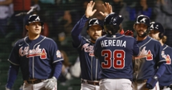 Braves enact revenge with five home runs in romp over Cubs