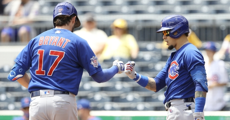The Cubs offense has been rolling (Charles LeClaire - USA Today Sports)
