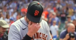 WATCH: Kris Bryant wipes away tears after heartfelt videoboard tribute