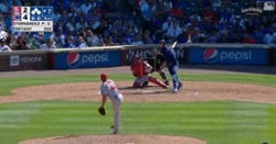 WATCH: Kris Bryant pinch hits, hammers three-run double off wall