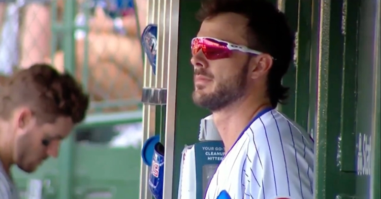 Kris Bryant made sure to take it all in after what was likely his last game as a Cub came to a close.
