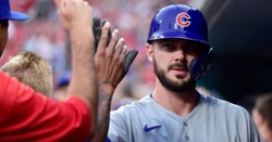 Kris Bryant removed from game due to injury