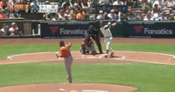 WATCH: Kris Bryant belts two-out homer in Giants debut