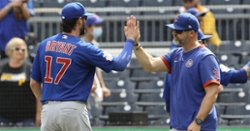 Chicago Cubs lineup vs. Reds: Kris Bryant at 1B, Anthony still out
