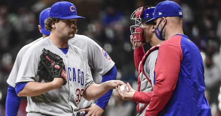 Cubs give up six runs in one inning, lose to Brewers