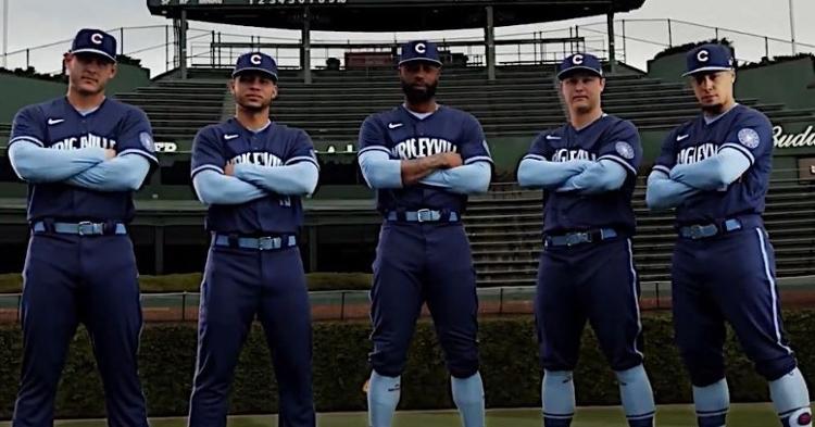 The Cub will wear this uniform on Saturday