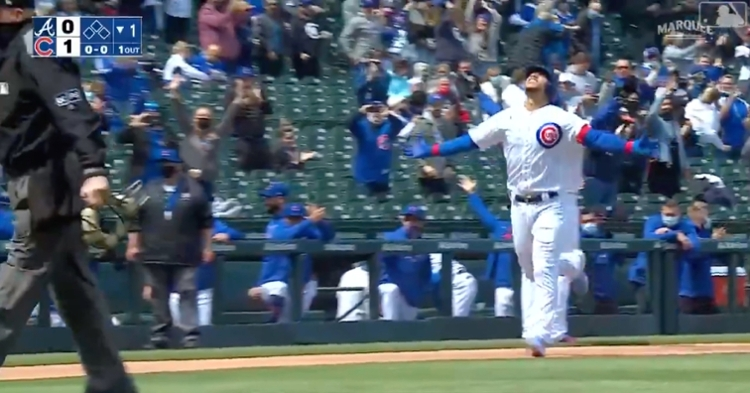 Cubs catcher Willson Contreras has now homered in three consecutive games played for the first time in his career.
