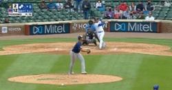 WATCH: Willson Contreras crushes three-run blast in Cubs blowout