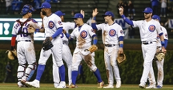 Cubs tally 13 hits at plate, defeat Nationals 6-3