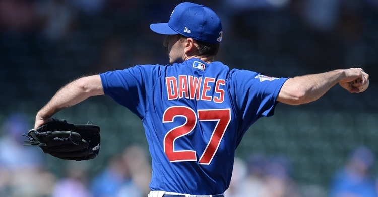 Davies has not given up a run in five innings this spring (Joe Camporeale - USA  Today Sports)