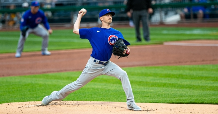 Davies had a rough outing against the Pirates (Mark Alberti - USA Today Sports)