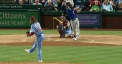 WATCH: Phillies fans booing after Matt Duffy's three-run homer