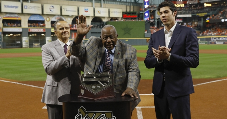 Hank Aaron was one of the all-time greats (Pool Photo - USA Today Sports)