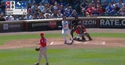 WATCH: Ian Happ smacks three-run homer vs. Reds