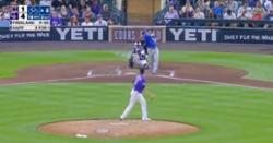WATCH: Ian Happ skies mile-high home run at Coors Field