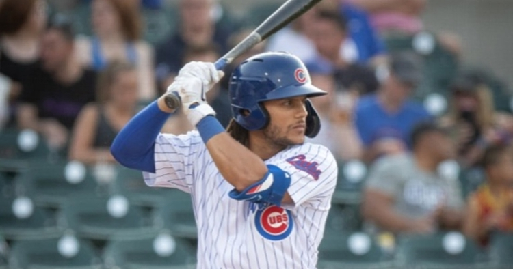 Hermosillo continues to hit well (Photo courtesy: Iowa Cubs)