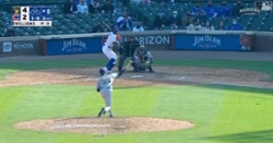 WATCH: Jason Heyward hammers 418-foot late-inning blast