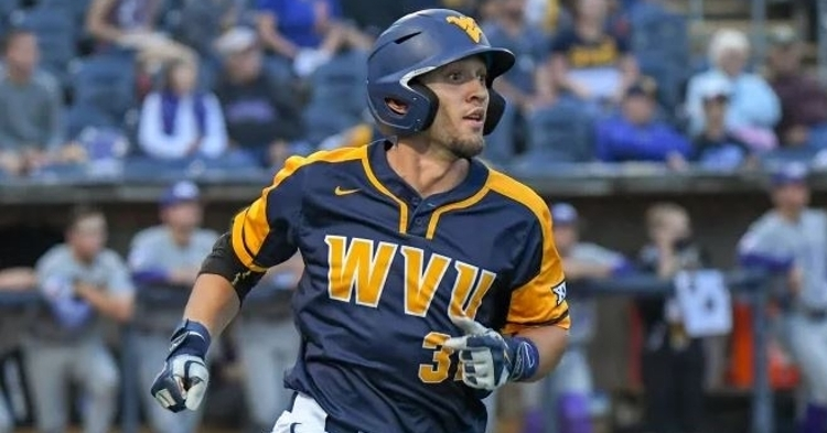 Hill is a fast-rising prospect for the Cubs (Photo courtesy: WVU)
