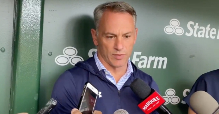 """Jed Hoyer, the Cubs' president of baseball operations, told reporters on Thursday that he expects to """"be on the phone a lot in the next three weeks."""""""