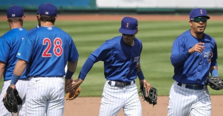 The Iowa Cubs exploded for 8 runs in the 9th inning (Photo via Iowa Cubs)