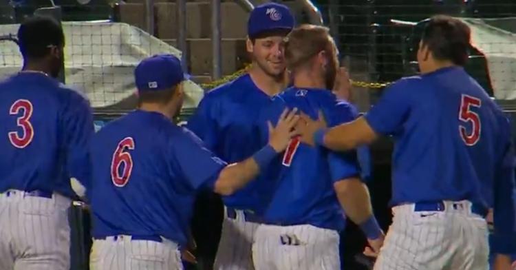 The Iowa Cubs got the extra-inning win last night