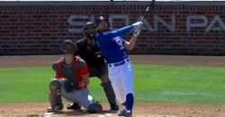 WATCH: Cubs smack back-to-back homers to start ballgame