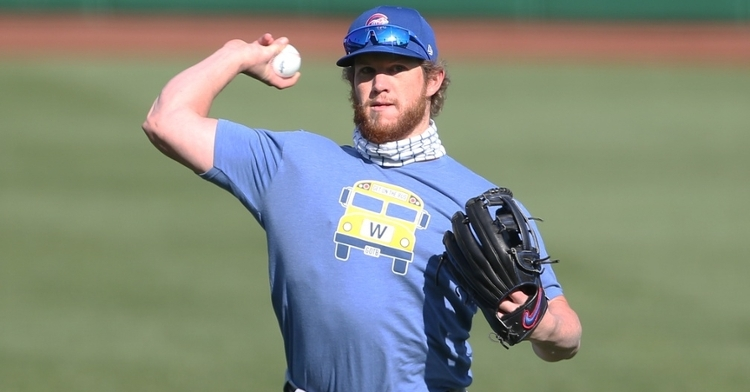 Kimbrel is one of the key players on the Cubs (Charles LeClaire - USA Today Sports)