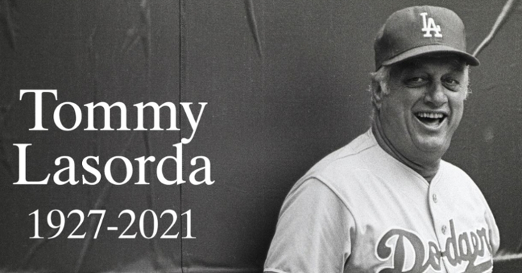 Lasorda was an icon of the sport (Photo credit: MLB)
