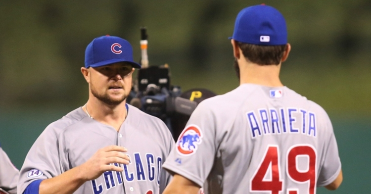 Lester and Arrieta were a dynamic duo (Charles LeClaire - USA Today Sports)