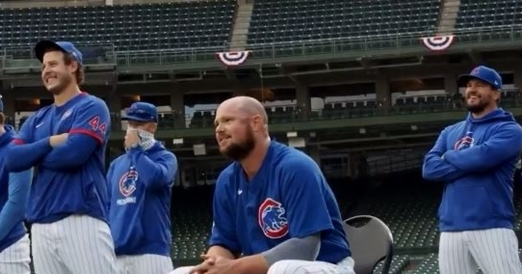 Lester and Schwarber are two beloved former Cubs players